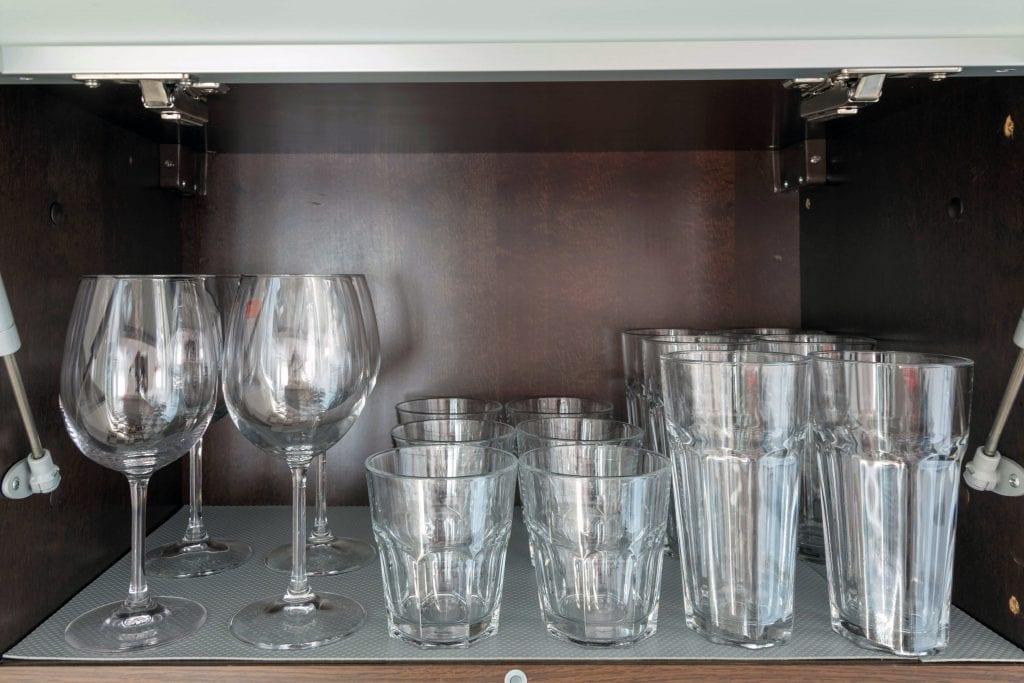 Ground floor A1 glasses, kitchen