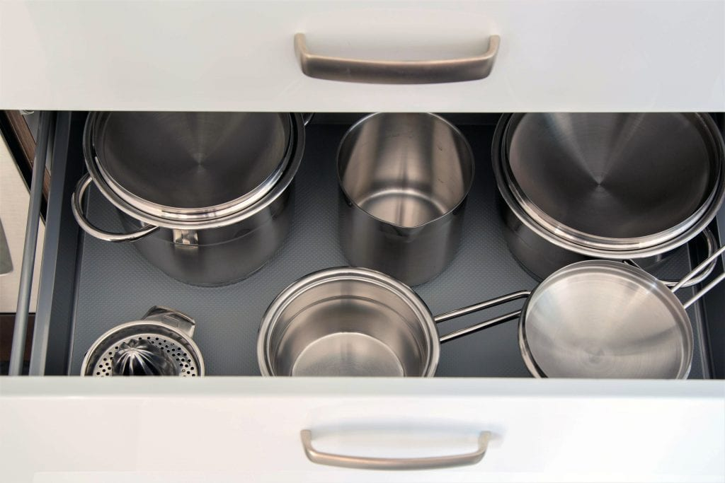 Ground floor A1 kitchen, cookware