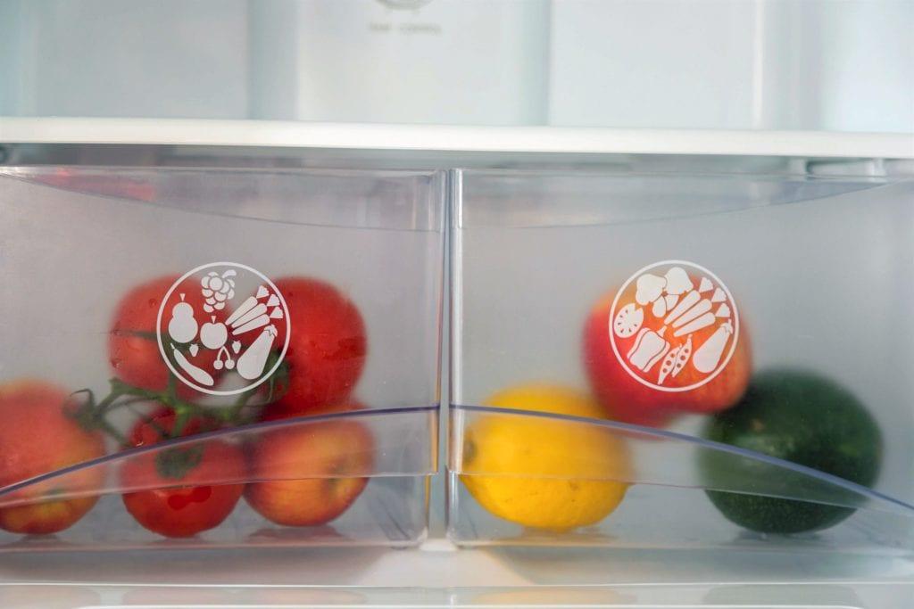 Ground floor A1 kitchen fridge and freezer