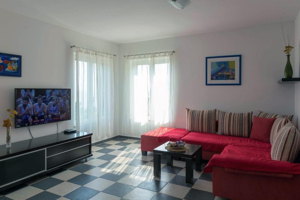 Zavala 222 A2 living room wit sea view