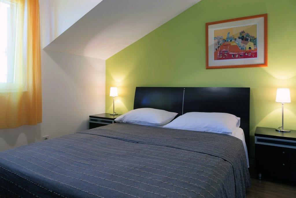 Zavala 222 C1 bedroom with sea view