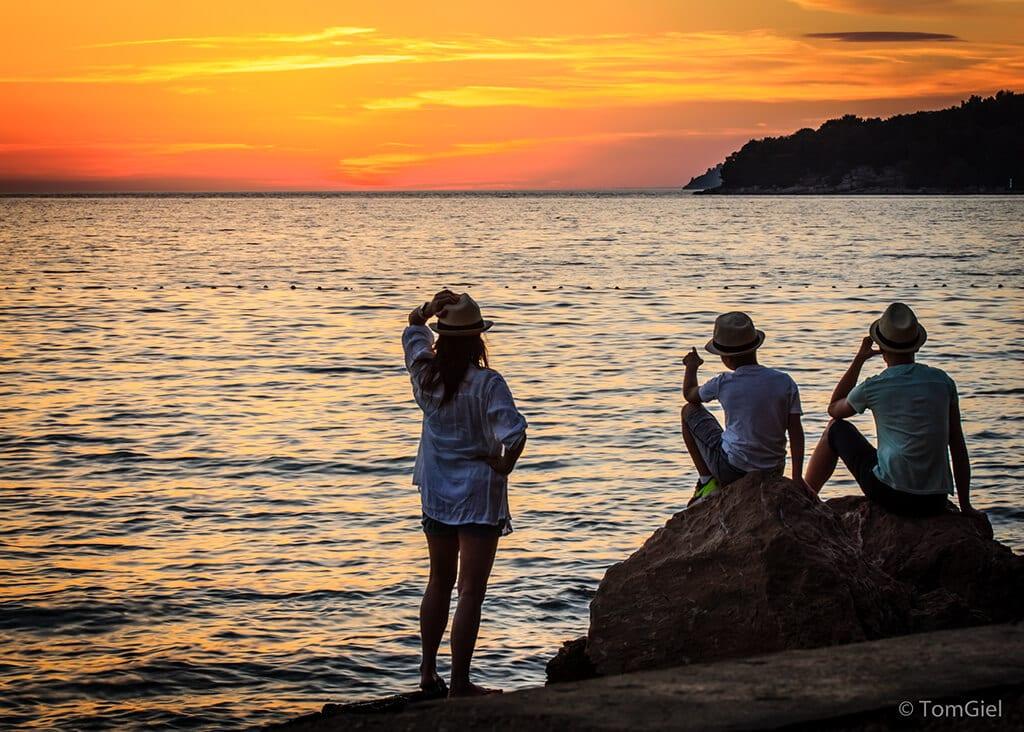 sunset island Hvar